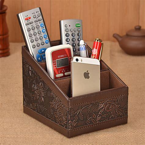 remote desk office desk organizer remote holder desktop