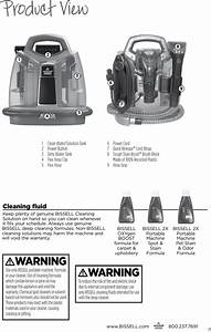 Bissell Spotclean Proheat 52074 Owners Manual
