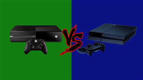 xbox vs playstation the console war truly begins