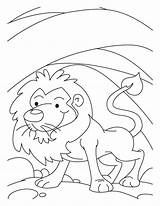 Den Lion Coloring Pages Drawing Mouse Colouring Lions Bestcoloringpages Sheets Printable Story Canteen Worksheets Getdrawings Getcolorings Worksheeto sketch template