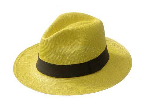 Panama Hat CLASSIC Yellow
