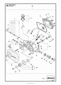 Husqvarna 525 P4s Parts Diagram For Saw Head