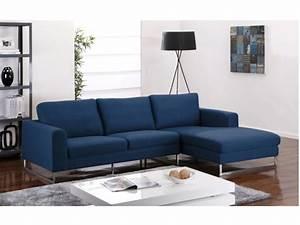 Canapé Tissu Bleu : 1000 ideas about canape angle tissu on pinterest canap angle canap and d cor d 39 ottoman ~ Teatrodelosmanantiales.com Idées de Décoration