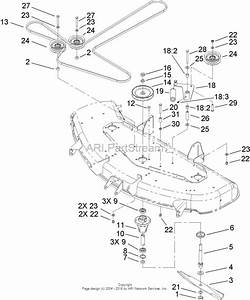 Toro 74353  Timecutter Z480 Riding Mower  2006  Sn 260000001