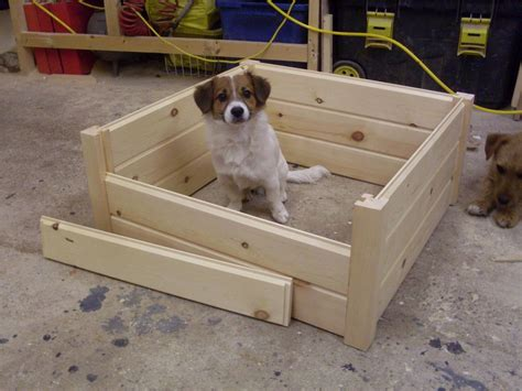 Whelping Box Bedding by Wooden Puppy Whelping Box Bed High Quality 3 Sizes