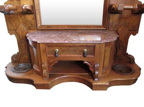 Carved Walnut Renaissance Antique Hall Tree (15001) For Sale How To Paint Antique Wicker Furniture Chaise Lounge Nz Large Round Mirror Oak Lawyer S Desk Antiques Las Vegas Blvd Wall Lights Ireland Blue Antiqued Panels