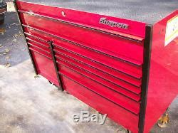 snap   drawer masters series double bank roll cab tool