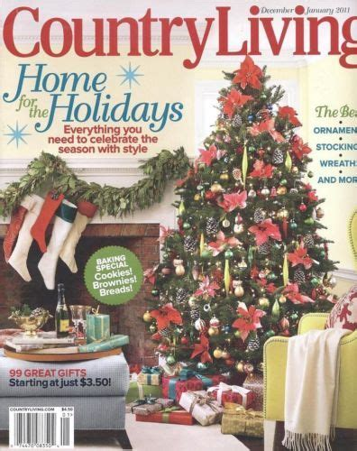 country living magazine december 2011 christmas crafts
