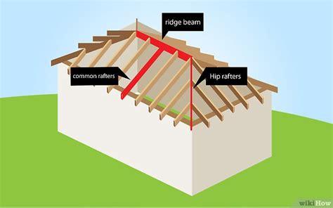 ein walmdach bauen wikihow