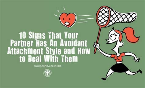 signs  partner   avoidant attachment style