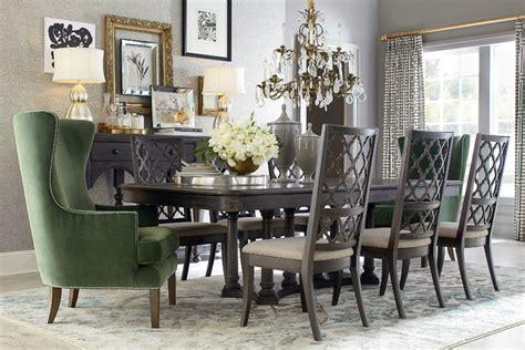 emporium rectangular dining table by bassett furniture