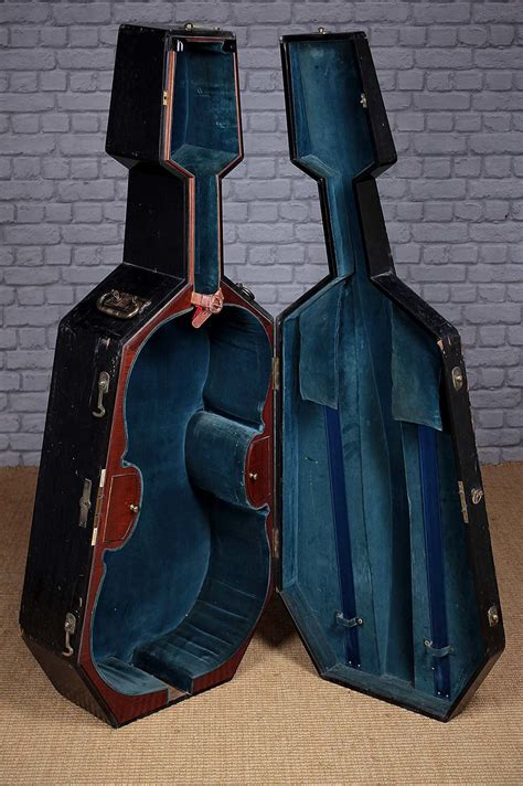 antiques atlas pair cello cases   hill sons  london