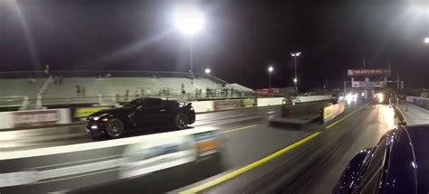 Tesla Model S P100d Vs. Nissan Gt-r 1/4-mile Drag Race Is