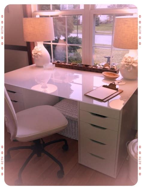 Makeup Desk Ikea Alex by Vanity 2 5 Drawer Alex Drawers And 47