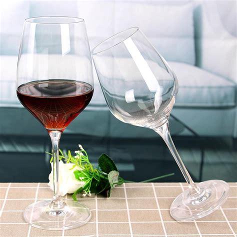 fabbrica bicchieri vetro bicchieri da 450ml bicchieri di bulk lungo stelo
