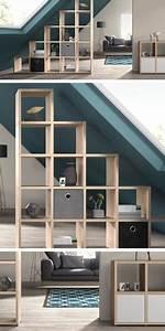Modulares Bauen Preise : raumteiler regale ideen f rs wohnzimmer und ~ Watch28wear.com Haus und Dekorationen
