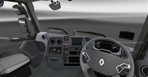 renault truck interior renault t new interior v6 0 euro truck simulator 2 spot