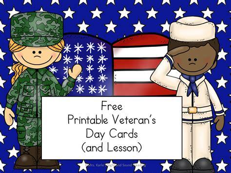 printable veterans day cards veterans day lesson plan