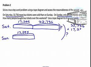 32 Tape Diagram Math 4th Grade