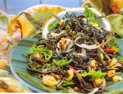 farida cuisine farida cuisine pucuk paku tahi minyak
