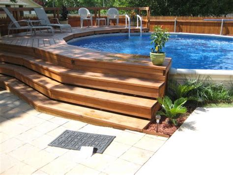 Backyard  Ground Pool Design Ideas Mystical Designs