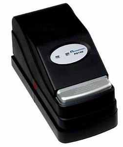 acroprint document date and time stamp pd100 With electronic document stamp