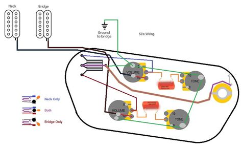 gibson sg wiring diagram humbuckers 3 way toggle switch 2