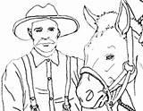 Coloring Prospector Horse Rush Miner Klondike Haul Prospectors Trails Horses Supplies sketch template