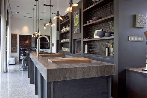 cuisine style cuisine style design industriel idéal pour loft ou grande