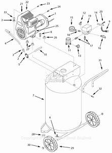 Campbell Hausfeld Wl611001 Parts Diagram For Air