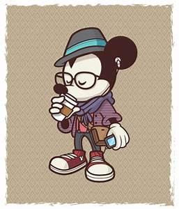 Jerrod Maruyama   Hipster Mickey   Portfolio