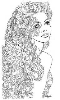 Women Adult Coloring Pages