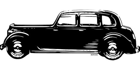 Car, Vintage, Antique