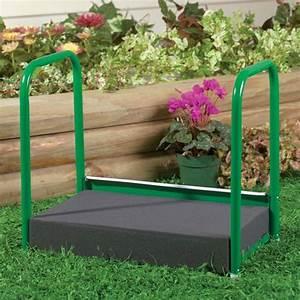 Gardening kneeler garden kneelers miles kimball for Gardening kneeler