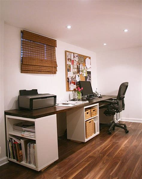 create   home office desk