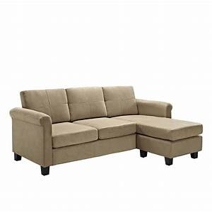 Inspirational 2 piece small sectional sofas sectional sofas for Sectional sofa in pieces