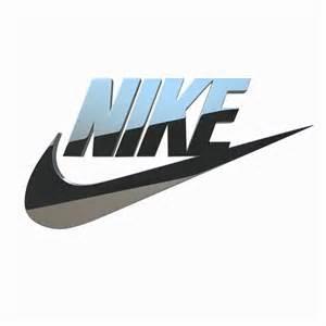 3D Nike Logo