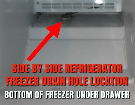 how to replace drain how to repair a freezer dripping water into refrigerator