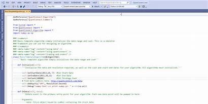 Python Debugging Quantconnect Source Open