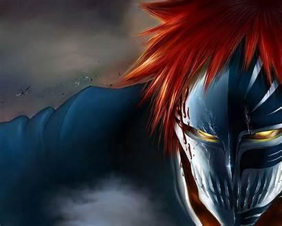 Ichigo Bleach Hollow Wallpapers Mask Squad Kurosaki
