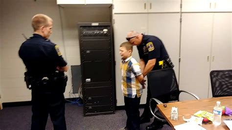year  boy  autism sobs  hes arrested