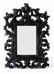 Miroir Baroque Noir : peint en noir baroque cadre miroir bois sculpt photographie lalouetto 23122820 ~ Teatrodelosmanantiales.com Idées de Décoration