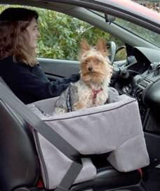 Medium Dog Car Booster Seat Charcoal