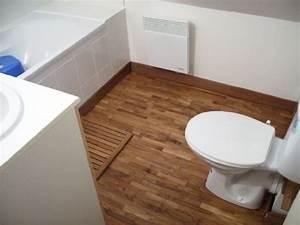 plancher salle de bain bois fu28 jornalagora With quel sol pour salle de bain