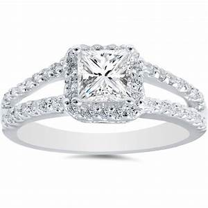 princess cut vintage halo engagement rings wwwpixshark With vintage halo wedding rings