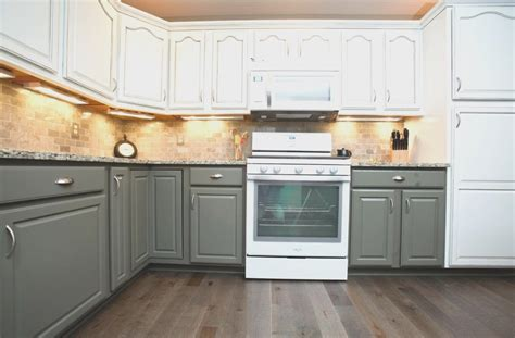 painting kitchen cabinets two colors two color kitchen cabinets bahroom kitchen design 7342