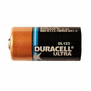Duracell Ultra DL123 3.0V Photo Lithium Battery CR123 - 8 ...