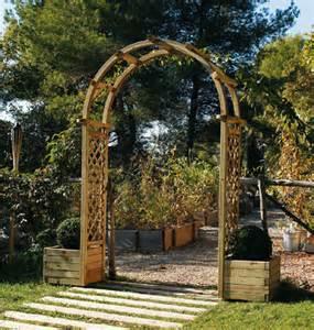 Arche De Jardin Jardiland by Pergola Double Arc Ma Pergola