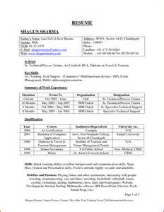 resume format free download for freshers pdf files search results for sle of freshers resume calendar 2015