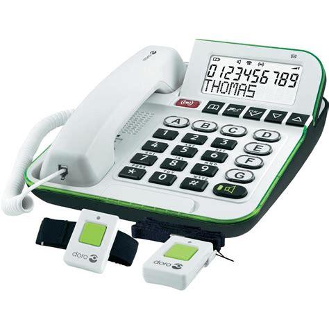 Seniorentelefon mit NotrufSender  Schröck Multimedia